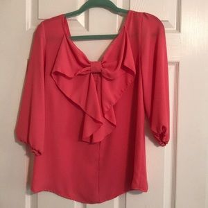 Francesca's Collections Tops - 3/4 sleeve shirt